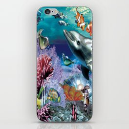 Dolphinius iPhone Skin