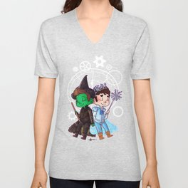 Defying Gravity Unisex V-Neck
