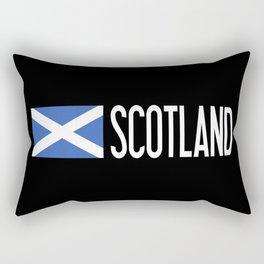 Scotland: Scottish Flag & Scotland Rectangular Pillow