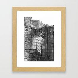 Castles of the Past Framed Art Print