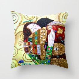 Tree of Life mural Throw Pillow