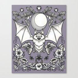 A Bat's Favorite Things Canvas Print