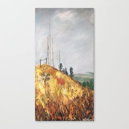 Radio Hill Canvas Print