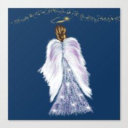 Future Angel Wings Canvas Print