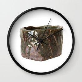 photograph of teabowl handbuilt by Rostislav Eismont of Richmond NH Wall Clock