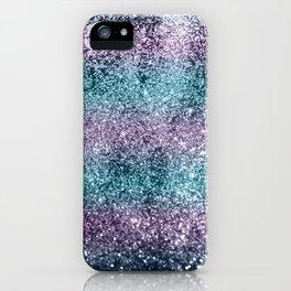 Mermaid Girls Glitter #8 #shiny #decor #art #society6 iPhone Case