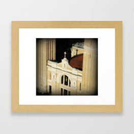 St James Cathedral Seattle WA Framed Art Print