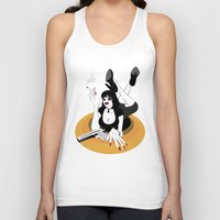 mia wallace Tank Tops featuring Miss Wallace by Arian Noveir