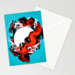 In Circle - I Stationery Cards