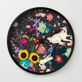 Momo Wonderland Wall Clock