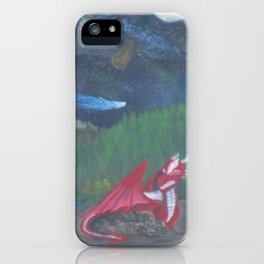 Dragon's glare iPhone Case