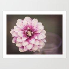Pink Whisper I Art Print