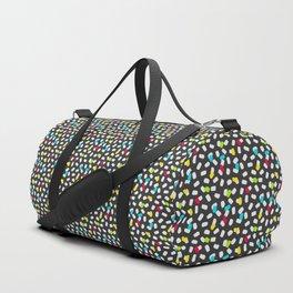 Brushstroke Brights Duffle Bag