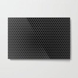 Perforated Pattern Metal Print