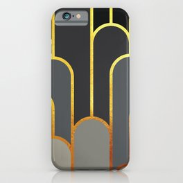 Art Deco Graphic No. 68 iPhone Case