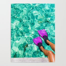 Vacation in the Maldives for the winter holidays Poster