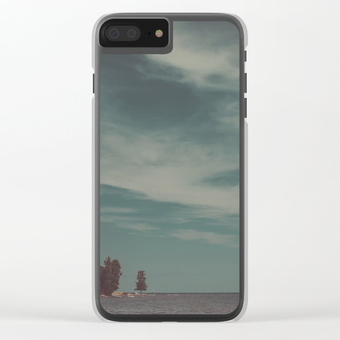 Let's Just Breathe Clear iPhone Case