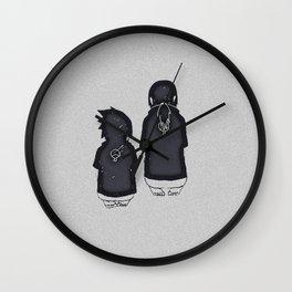 Duo Uchiha Wall Clock