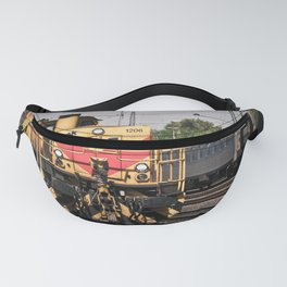 Locomotive at the Station Fanny Pack
