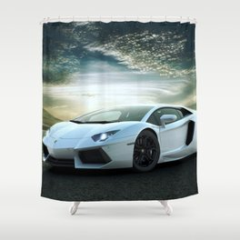 Exotic Lambro Shower Curtain