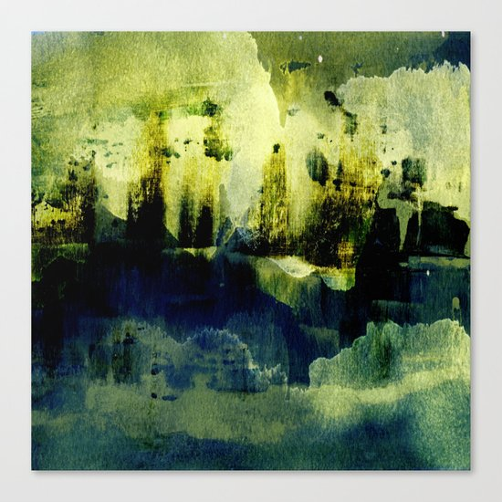 abstract landscape with light Canvas Print