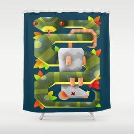 Caught Shower Curtain