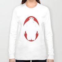 baymax Long Sleeve T-shirts featuring Baymax by Polvo