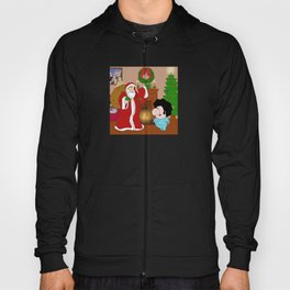 Santa Claus came to town! Hoody