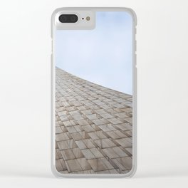 rocket in couds Clear iPhone Case