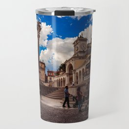 Spring afternoon in the city of Udine Travel Mug
