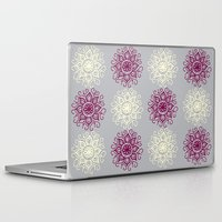 wallpaper Laptop & iPad Skins featuring wallpaper by Art Stuff