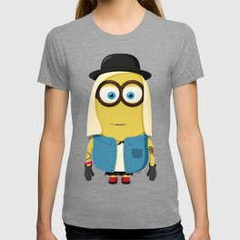 Hipster Girl Minion T-shirt