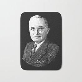 President Harry Truman Graphic Bath Mat