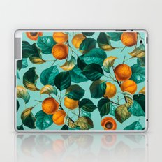 Peach and Leaf Pattern Laptop & iPad Skin