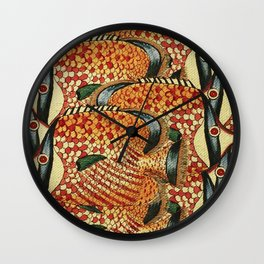 Crowd Fish Wall Clock