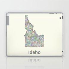 Idaho map Laptop & iPad Skin