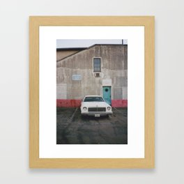 American Car Framed Art Print