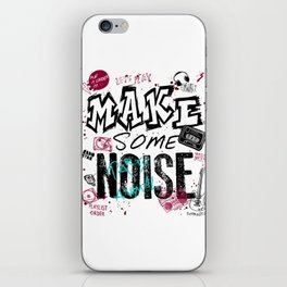 Make some Noise iPhone Skin