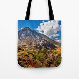 Autumn colors of the old Volсano Tote Bag