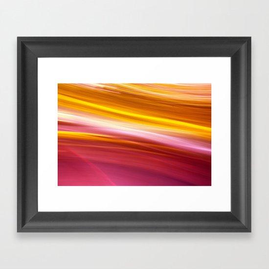 Spinning in Circles Framed Art Print