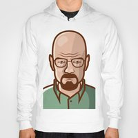 walter white Hoodies featuring Walter White by Sherif Adel