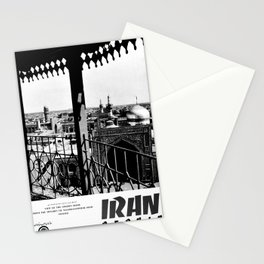 Affiche monochrome Persia Stationery Cards