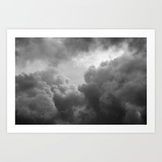 Grainy Cloud Art Print