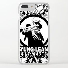 Yung Lean - Stackin it Clear iPhone Case