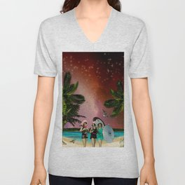 Serenade on the Beach Unisex V-Neck