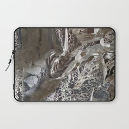 Silver Crystal First Laptop Sleeve