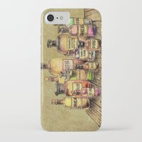 oil iPhone & iPod Cases featuring Snake Oil by Eric Fan
