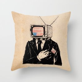 Kill The Babysitter Throw Pillow