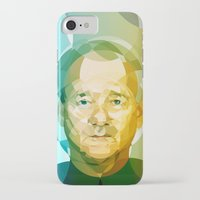 bill iPhone & iPod Cases featuring Bill by Tom Johnson