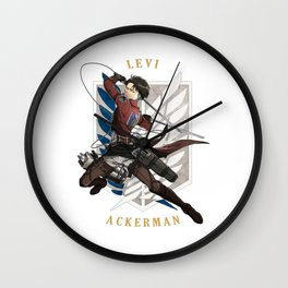 Levi Ackerman Wall Clock